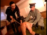 Master and Mistress Discipline Sexy Slave
