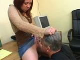 Dominant Femdom Woman in the Office